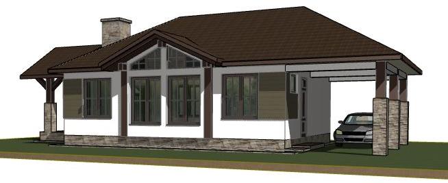 Растущий дом - гараж